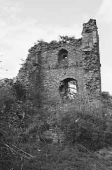 View of the remains of Cockburnspath Tower from S.