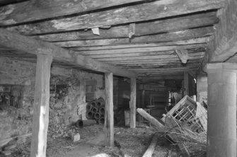 Interior. West range looking E.