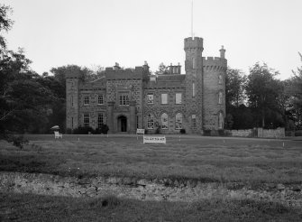 View of Dunninald Castle from W.