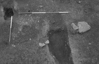 Excavation photograph : general shot of features, from N.