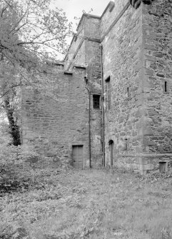 View of N elevation of Towie Barclay Castle.
