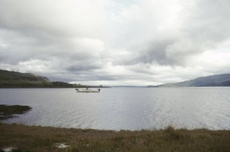 General view of Lochaline ferry