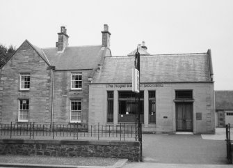 View of Royal Bank of Scotland, High Street, Ayton, from NE.