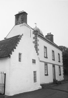 General view of Hugh Miller's Cottage and Miller House