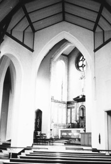 Edinburgh, Woodhall Road, Convent of the Good Shepherd. Interior view of chapel.