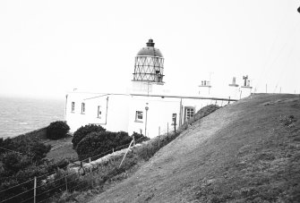 Mull of Kintyre Lighthouse. General exterior view.