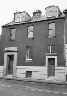 Perth, 48, 50 Kinnoull Street, Clovelly House. General view from East.