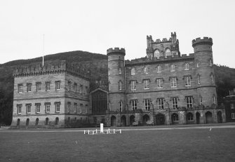 Taymouth Castle. General view from South.