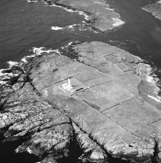 Oblique aerial photograph of Orsay Island and lighthouse, Islay, taken from the S.