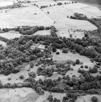 Formakin, oblique aerial view, taken from the WSW, centred on Formakin House.