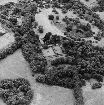 Formakin, oblique aerial view, taken from the N, centred on Formakin House.