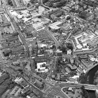 General oblique aerial view of Paisley, taken from the ESE.