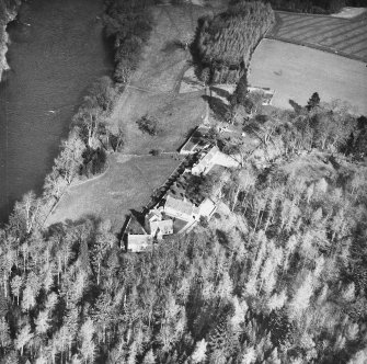 General oblique aerial view.