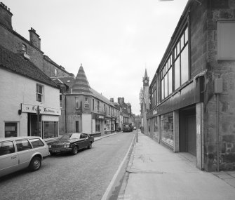 Dunfermline, Bruce Street. General view from North
