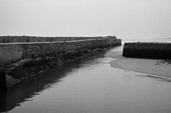 St Andrews Harbour, main pier, North East Fife, Fife