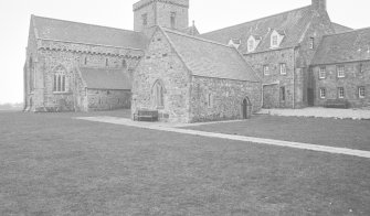 Michael Chapel and Church, Iona Abbey, Iona, Argyll and Bute