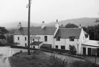 Mull, Devaig, Bellachray Hotel. General view of front.