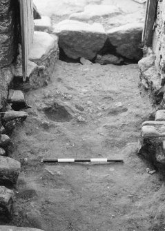 Excavation photograph. View of trench. October 1979.