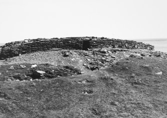 View of blockhouse from the north-west.