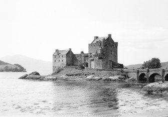 Eilean Donan Castle. View from East.