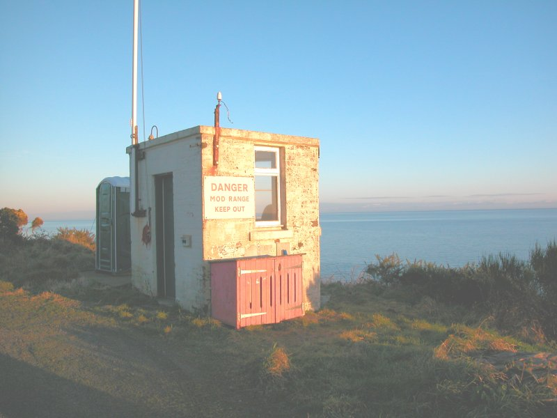 View of observation post from the NW
