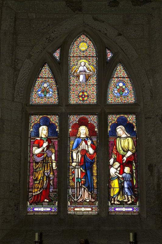 View of stained glass