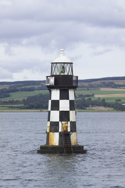 View of Perch Light beacon, River Clyde, from S