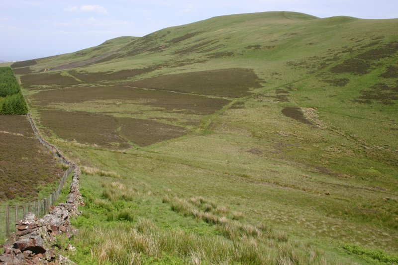 General view of Capelaw Hill from SW