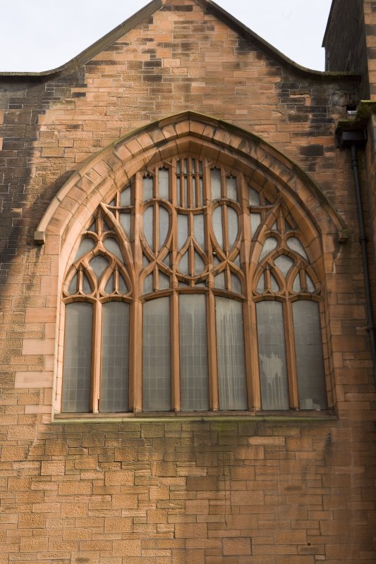 Detail of W window