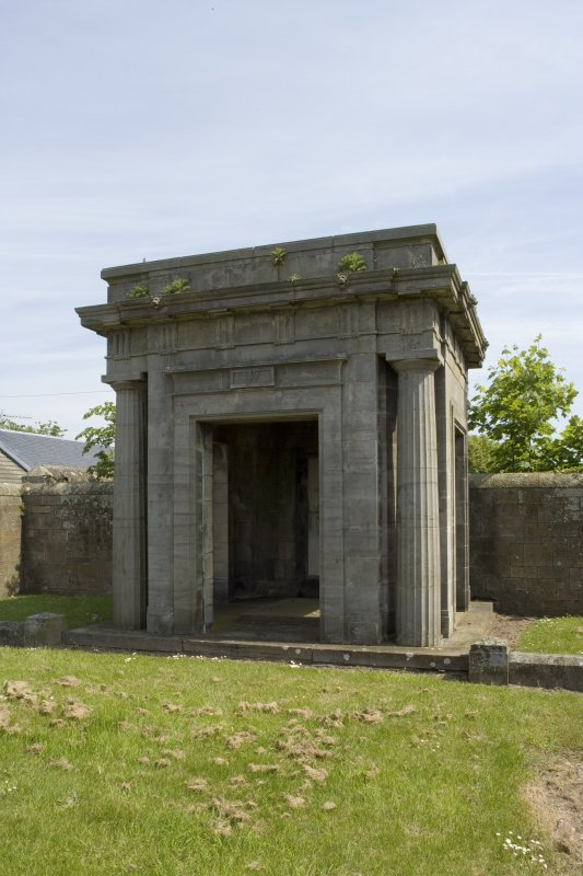 View of mausoleum