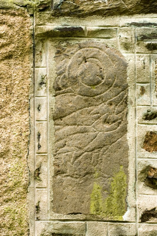 Detail of Pictish stone