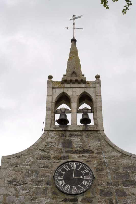 Detail of bellcote and clock