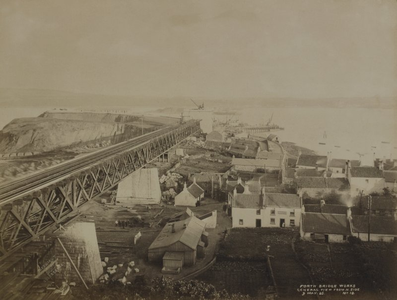 Forth Bridge Works. General view from N side, No18