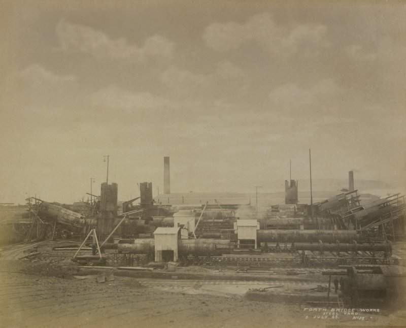 Forth Bridge Works: Steel yard, No. 38