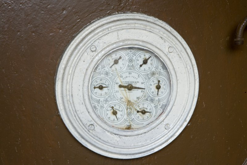 Detail of meter (D grant and Co., Edinburgh 1922)