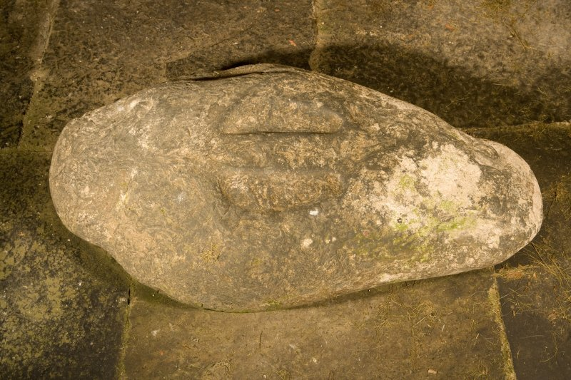 Interior. Detail of Ladykirk Stone