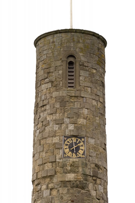 Detail of top of tower