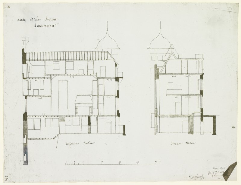"Sections. Signed ""G S Aitken, 29 Queen Street""."