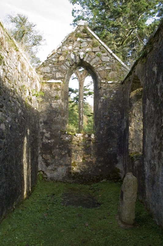 Burial Aisle. Interior. View from W