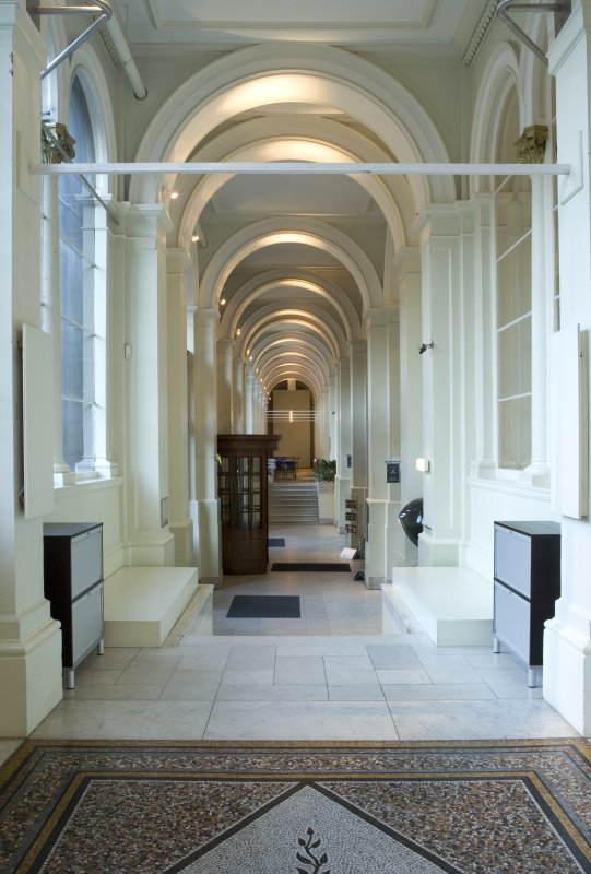 Interior. View of main entrance passage.