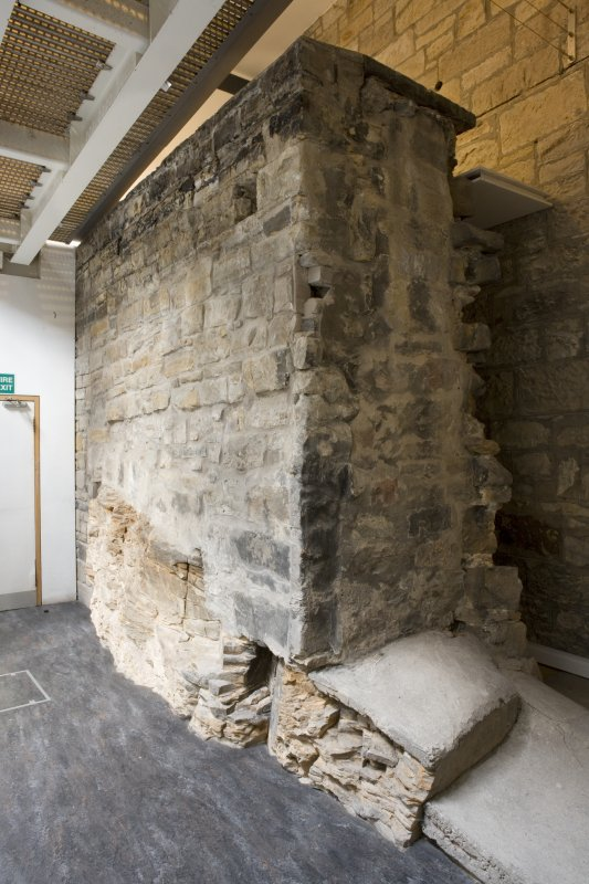 Interior. Ground floor, Flodden Wall section.