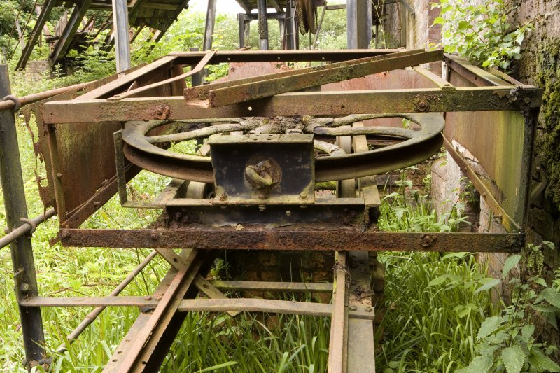 Winding and Haulage. View of winding/haulage mechanism.
