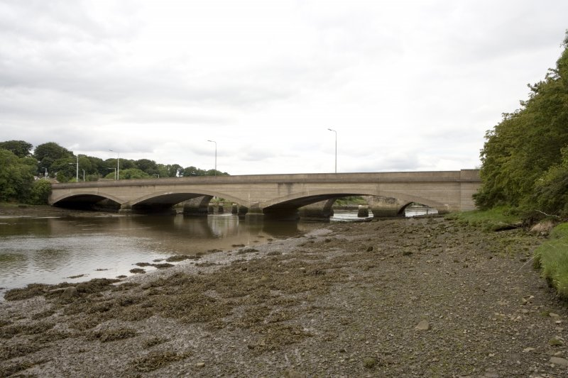 Road bridge to S of Guard Bridge, view from SSE