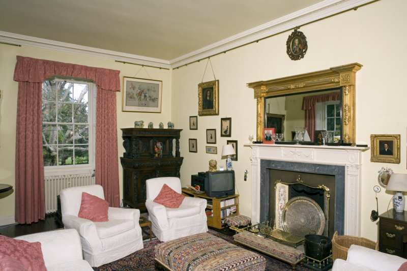 Interior. Upper ground floor. Drawing room.