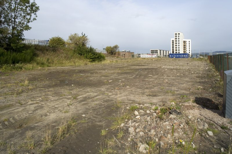 View of site from SE