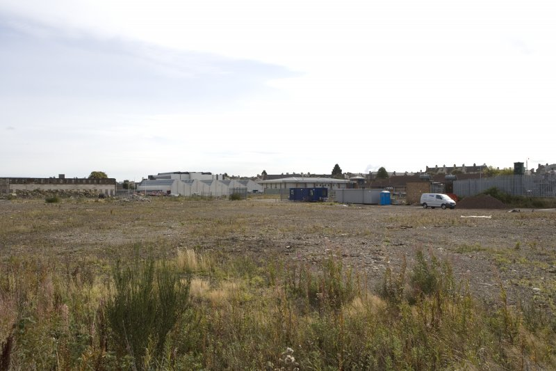 View of site from NW