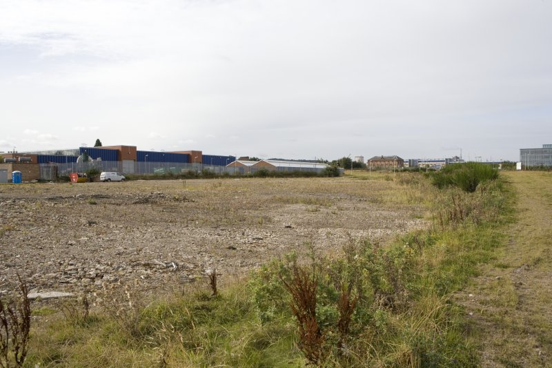 View of site from NE