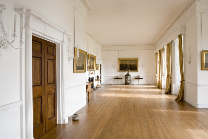 Interior. First floor, drawing room