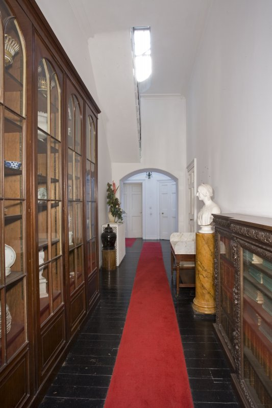 Interior. First floor, drawing room hall