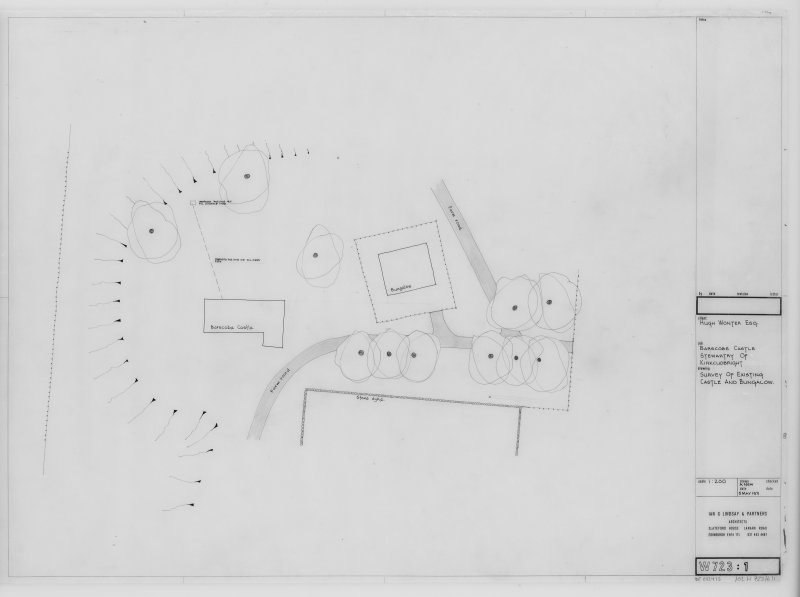 Survey of Existing Castle and Bungalow.